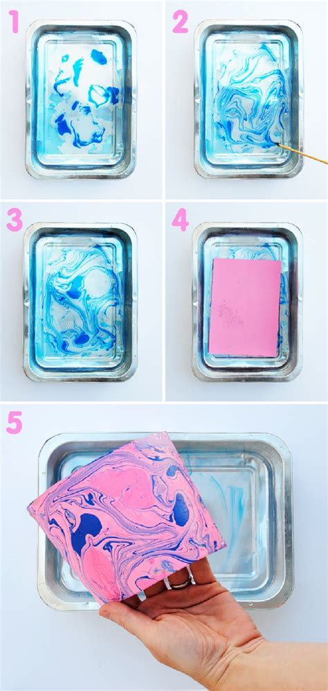 Make Marbled Paper - top 10 fantastic ways to make marbled paper