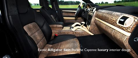 Alligator Interior by The Tartan And Other Upholstery Options Thread