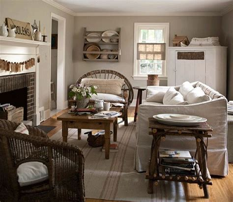 peaceful living room decorating ideas linen and wood make a perfect pair in this peaceful living