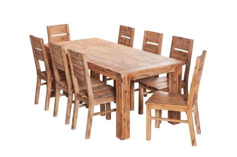 Holz Nach Lackieren Rau by Essgruppe 160x90 Colorado Esstisch 6 St 252 Hle Akazie