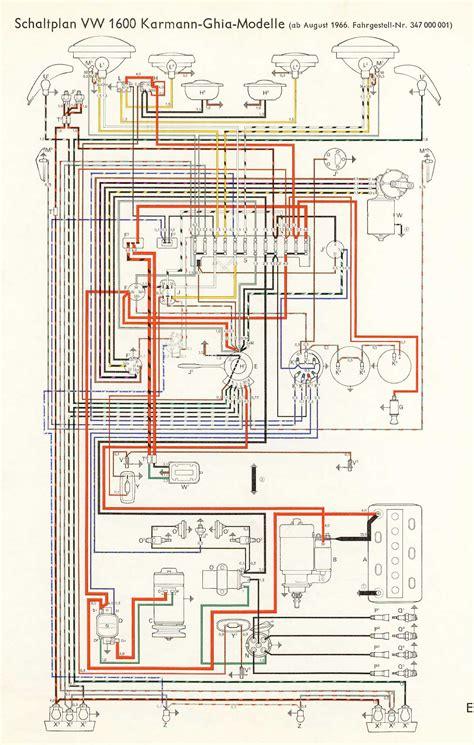 vw 1600 wiring diagram wiring diagram manual