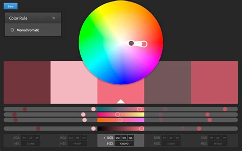 choosing the color palette for your