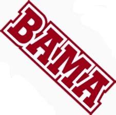 alabama crimson tide logo home decor football sports wall alabama crimson tide die cut bama wordmark logo ua vinyl