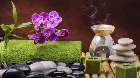 fiori day spa spa still wellness relax salt candles orchid flowers