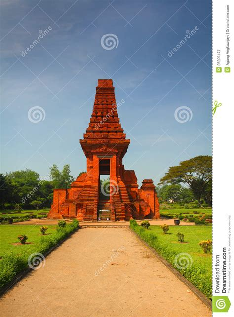 candi bajang ratu royalty  stock photography