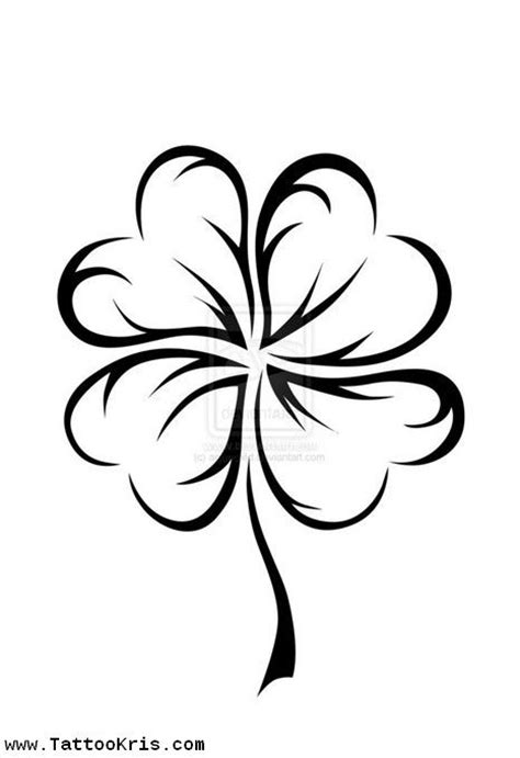 four leaf clover tattoo meaning 25 best ideas about four leaf tattoos on four