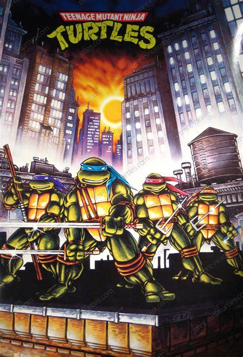posters wall hangings tmnt poster eastman illustration turtles in city tmnt