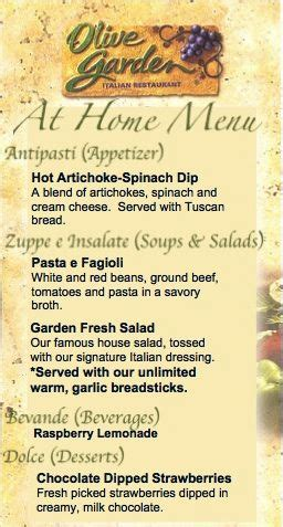 olive garden 7 principles date olive garden copy cat recipes with menu pasta salad salad dressing