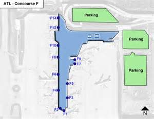 airport in atlanta map atl hartsfield jackson atlanta airport terminal maps