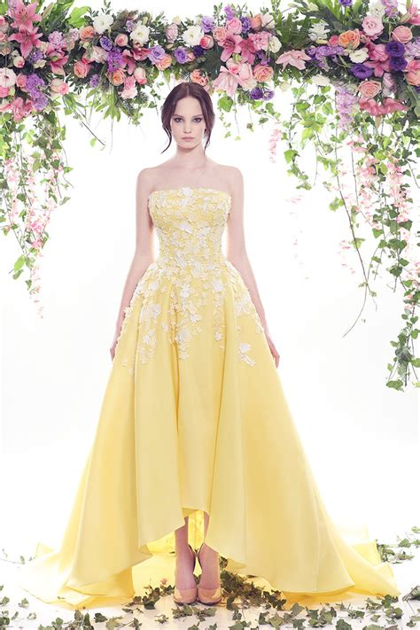pictures of yellow wedding dresses 15 yellow wedding dresses for and