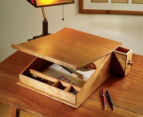 portable writing desk writing slope holz