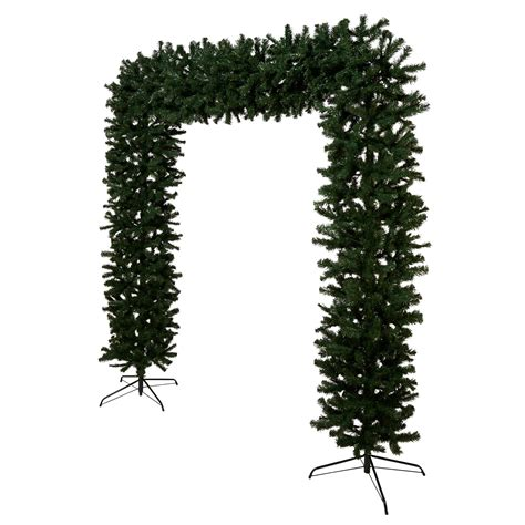 b and q best christmas trees 8 ft classic tree arch departments diy at b q