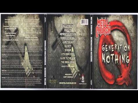 Kaos Keren Metal Church Generation No Thing metal church generation nothing album 2013