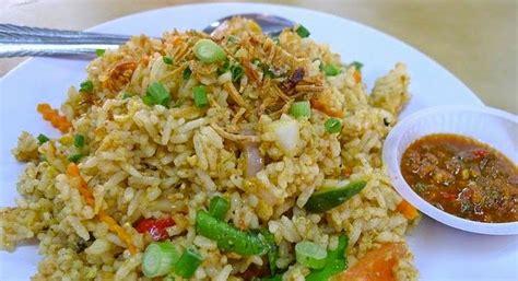 resep membuat nasi goreng vegetarian resep masakan indonesia resep nasi goreng teri medan