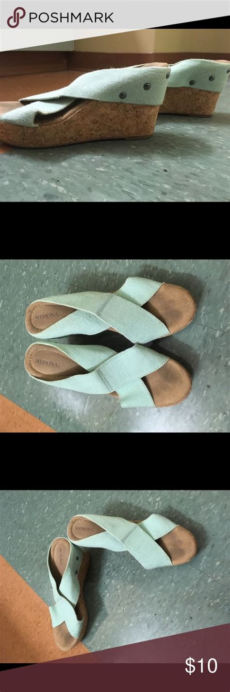 mint colored sandals best 25 mint wedges ideas on mint heels mint