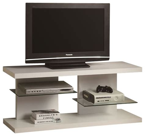floating shelves media unit white contemporary