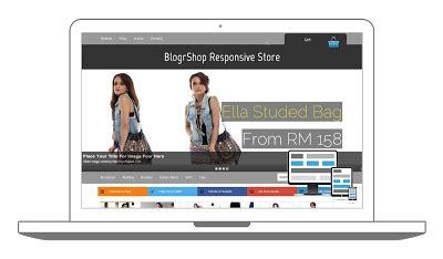 template toko online blogspot responsive gratis 7 template toko online blogspot responsive tips