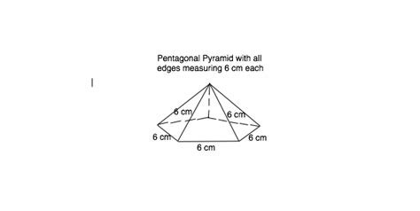How To Make A Pentagonal Pyramid Out Of Paper - how to make a pentagonal pyramid out of paper 28 images