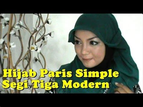 tutorial jilbab segitiga youtube tutorial jilbab paris segitiga simple by revi 148 youtube