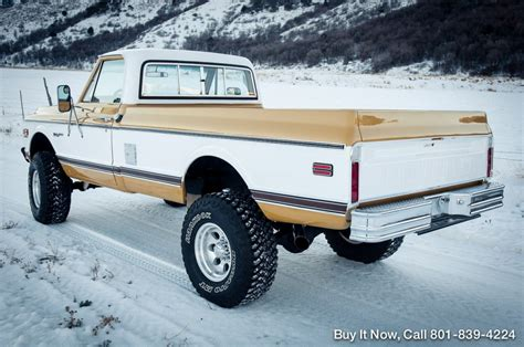 1971 Chevy K20 Truck Custom Deluxe for sale