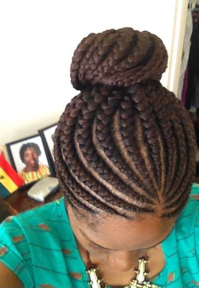 cornrows updo into buns 32 best images about mahogany beauty on pinterest ghana