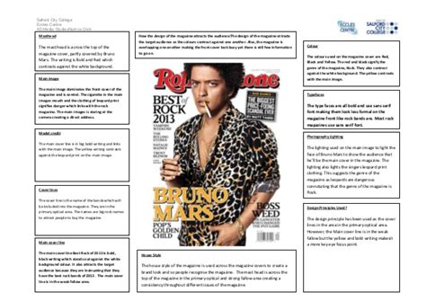 magazine cover layout analysis magazine cover analysis rolling stones
