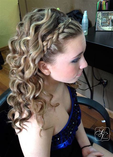 hairstyles with half of head in braids 57 best images about prom on pinterest updo braids and