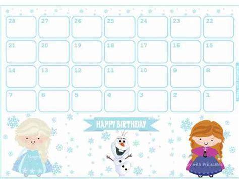 Countdown Calendar Birthday Countdown Calendar Printable Printable Calendar
