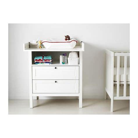 Ikea Wickelkommode Sundvik by Sundvik Wickeltisch Kommode Wei 223 Babyworld