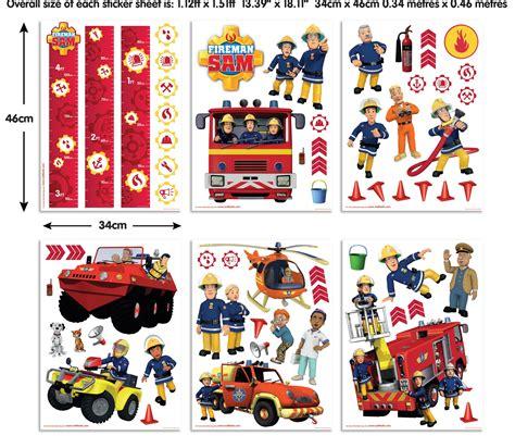 fireman sam wall mural fireman sam stickers wall stickers for