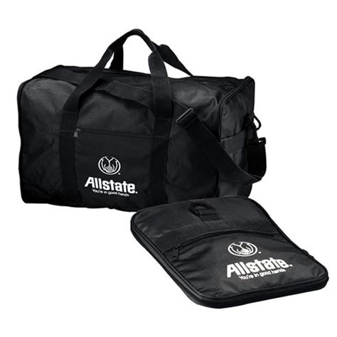 customized collapsible two way travel duffel bag