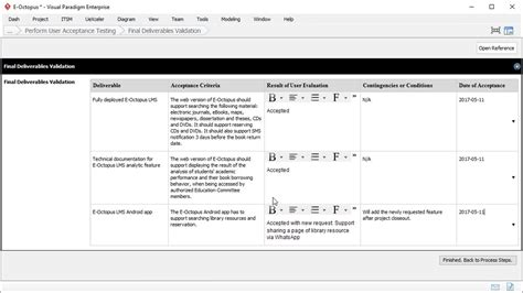 uat report template user acceptance report template project management