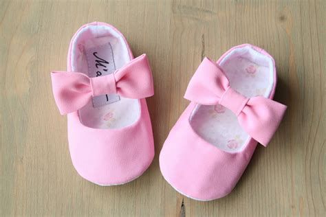 light pink baby shoes pale pink baby wedding