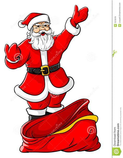 imagenes de santa claus grandes la navidad pap 225 noel con el saco vac 237 o grande fotos de