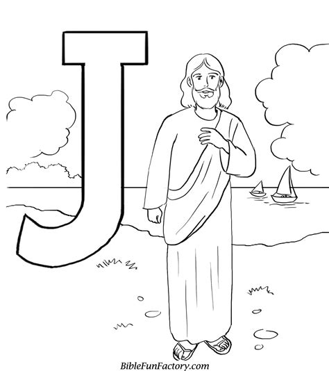 Free Coloring Pages Of Jesus jesus coloring sheet bible lessons and activities biblefunfactory