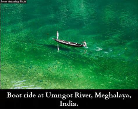 boat ride meme some amazing facts boat ride at umngot river meghalaya