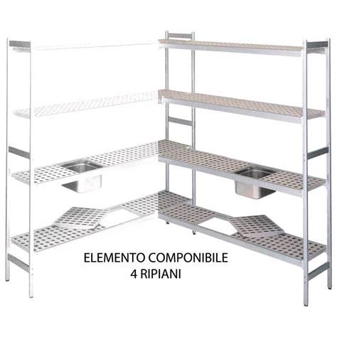 scaffali in alluminio scaffale in alluminio anodizzato elemento componibile