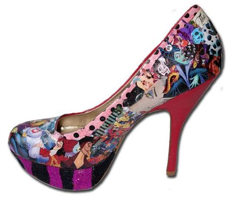 disney high heel shoes disney villains custom made s high heels by