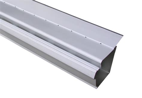 K Style Gutter Guards - click for a larger view free flow gutter guard