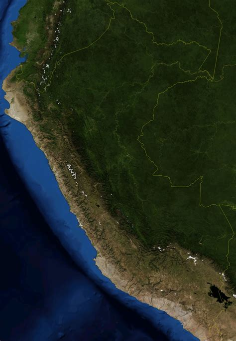 imagenes satelitales concepto satellite image photo of peru