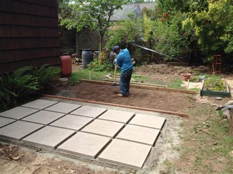 patio paver base 2x2 paver patio quot no skid quot product from materials