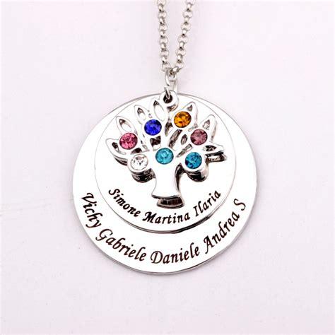 jewelry stores that make custom jewelry aliexpress buy filigree family tree pendant necklace