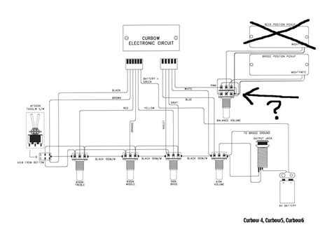cort bass guitar wiring diagram wiring automotive wiring