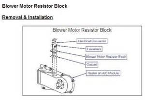 2004 buick lesabre blower motor resistor location wiring