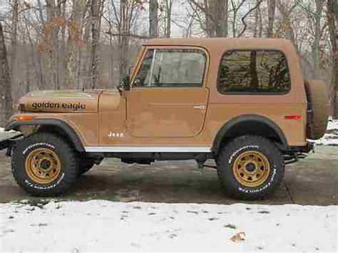 Used Jeeps For Sale In Missouri Sell Used 1980 Jeep Cj7 Golden Eagle In