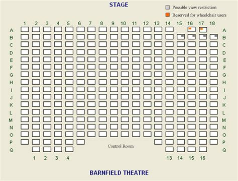 a seating plan exeter barnfield theatreseating plan exeter barnfield