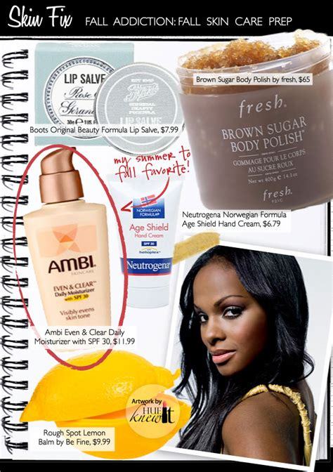 african american skin care products prep your summer skin with 4 fall skin care tips