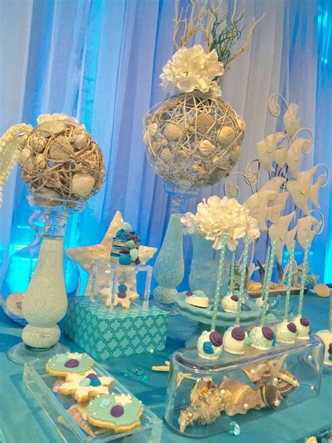 quinceanera themes under the sea winter and under the sea quincea 241 era party ideas cake