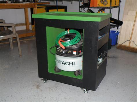mobile air compressor mobile air compressor stand shop cart workshop air