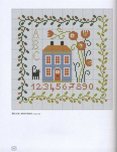 house pattern cross stitch 239 best cross stitch house patterns images on pinterest